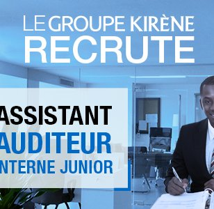 Le Groupe Kirène recrute un assistant auditeur interne junior